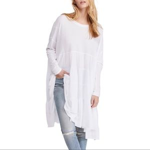 Free People Rory Oversized Tiered Tunic NEW